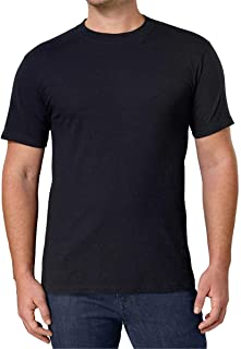 Kirkland Men's Crew Neck Black T-Shirts (/Pack of 4)