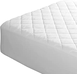 Waterproof Mattress Protector (Twin XL) - Premium 200TC Cotton Fitted Undersheet. Cool & Breathable. Vinyl-Free. Machine Washable. 39x80in Ideal for Hospital Beds
