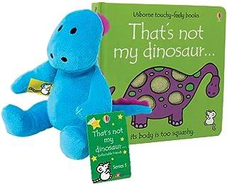 BONHEUR Dinosaurio .Hardcover Libro con el Dinosaurio Felpa Juego de Regalo
