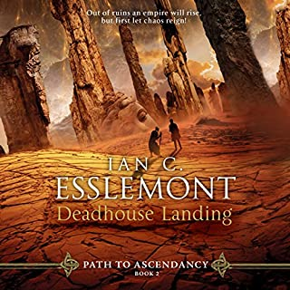 Deadhouse Landing     A Novel of the Malazan Empire              Auteur(s):                                                                                                                                 Ian C. Esslemont                               Narrateur(s):                                                                                                                                 John Banks                      Durée: 15 h et 38 min     21 évaluations     Au global 5,0