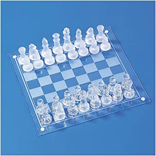 مجموعة الشطرنج الدولية مع لوحة الشطرنج الزجاجية للطي والكلاسيكية اليدوية قطع الشطرنج مجموعة للأطفال الكبار