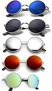 ELLIGATOR Combo of Unisex Sunglasses (Multicolour)