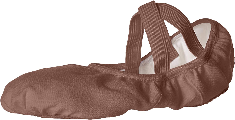 Capezio Women's Hanami Dance Shoe, Mocha, 13
