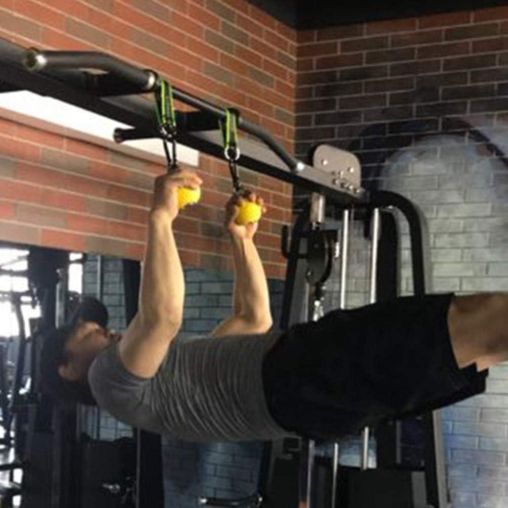 Jaune, 9.7cm Yiiquanan Traction Boule Grips pour Force Entra/înement et Escalade Entra/înement Fitness Pointeur Ball Grip