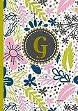 G Adventures: Initial Monogram Gift, G- Initial, Cute Monogrammed Journal, perfect Christmas Gift, Graduation Gift, Birthday Gift, Anniversary Gift, ... more. (Initial Monogram Gift/Customized Gift)