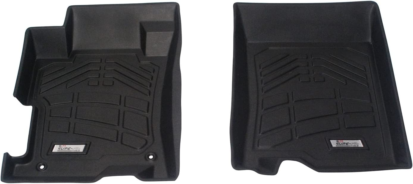 Westin Wade 72-110031 Black Sure-Fit Front and Left Spring new work Right Limited price sale Molded