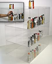 Commercial Display for Mini Sampler 50ml Liquor Shot Airplane Bottles Nips Also Any Other Point of Sale Items