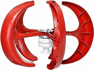 WANGYONGQI Kit De Générateur De Vent De Secours Vertical, 12V 24V 48V 1000W 4 Pale Éoliennes KIT Énergie Industrielle Géné...