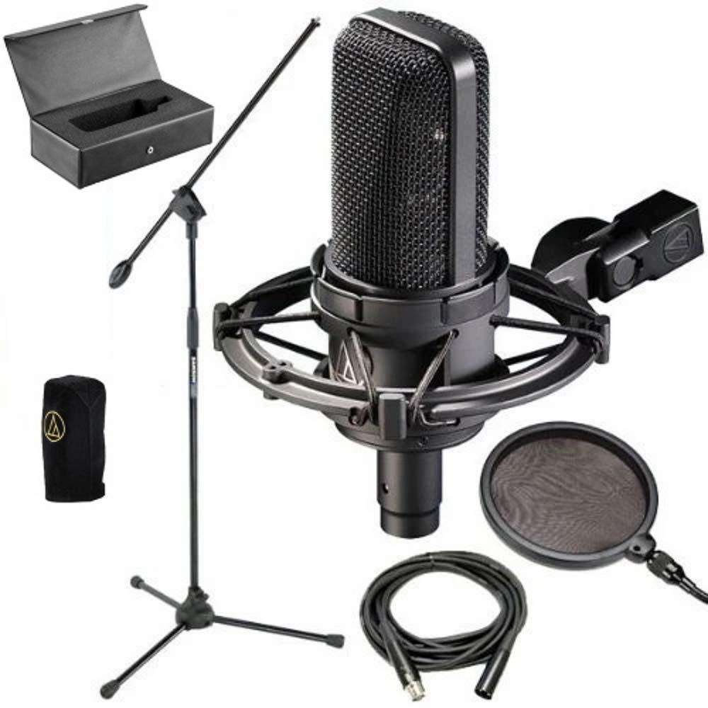 Microfono Audio-Technica AT4033CL Condenser Mic w/ Stand Pop