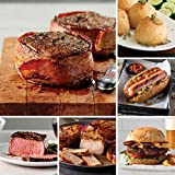 Heroes Homecoming from Omaha Steaks (Bacon-Wrapped Filet Mignons, Top Sirloins, Boneless Pork Chops,...