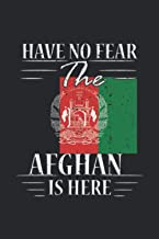 Have No Fear The Afghan Is Here: Notebook 6x9 Personalized Gift Travel Journals to Write in for Girls and Boys Lined Paper...