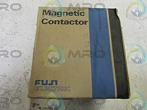 FUJI SC-N4 Contactor Motor Starter, COIL VOLTAGE 200-220VAC/50Hz 220-240VAC/60Hz, CONTACT RATING 80A