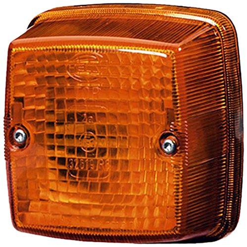 HELLA 2BA 003 014-011 Blinkleuchte - P21W - Lichtscheibenfarbe: gelb - Anbau - Einbauort: links/rechts