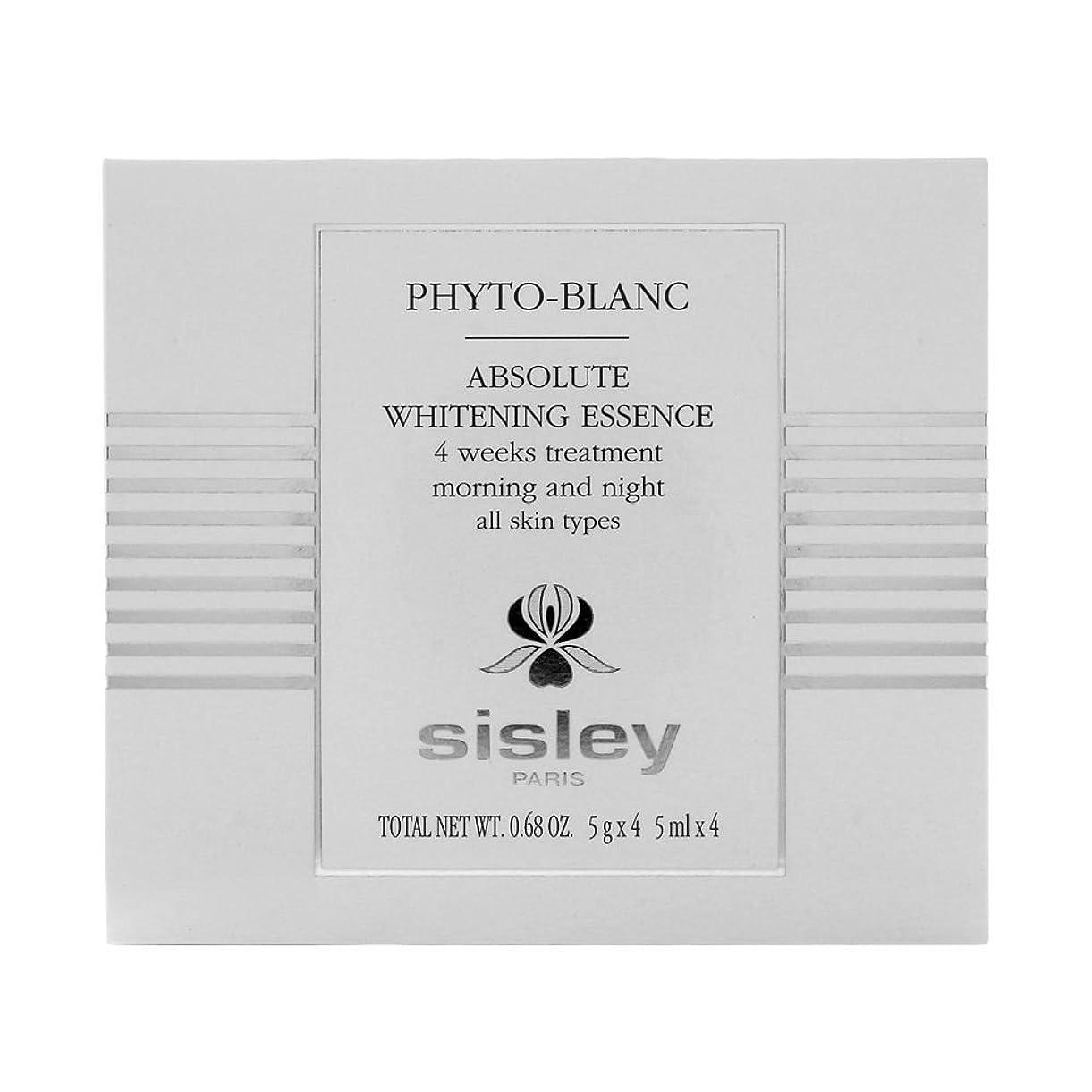 先史時代の才能のある相続人シスレー  フィトブラン ホワイト エッセンス - 4週間集中トリートメント (全ての肌タイプ) 4x5ml/0.68oz並行輸入品