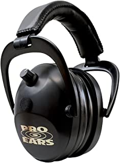 Pro Ears Gold II 26 - Electronic Hearing Protection & Amplification - Shooting Earmuff - NRR 26 - Electronic Hearing Protector Ear Muffs