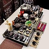 Alarmclocker8B Porcelana Azul y Blanca,Juego de té de Kungfu Chino,Juego Completo de Tazas; consulte la Tabla 4