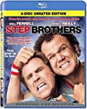Step Brothers (Rated/Unrated) [Blu-ray] NEW! Free Shipping
