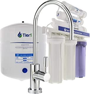 Tier1 6-Stage Under Sink Reverse Osmosis Drinking Water Filtration System