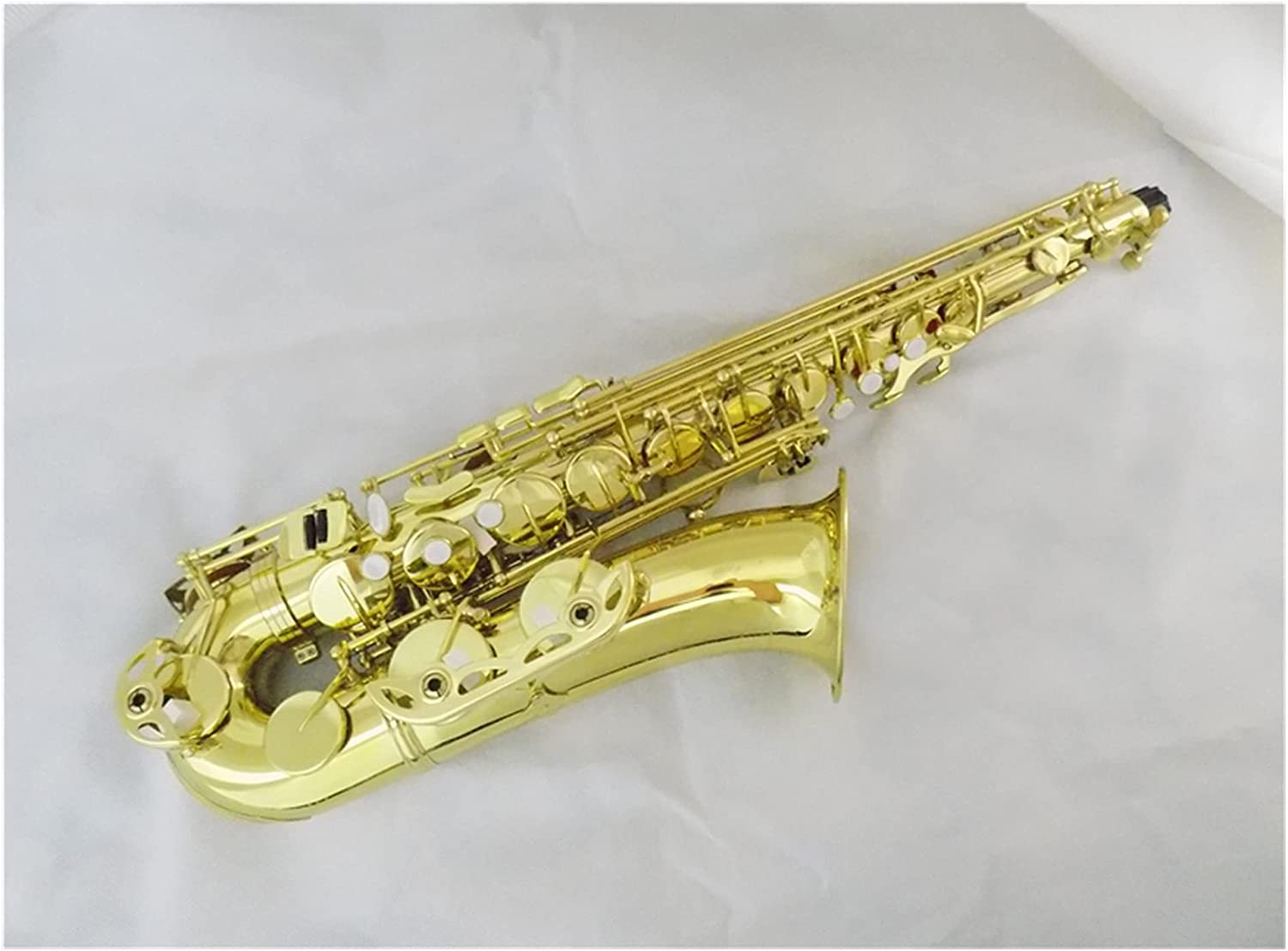 Saxophone Yellow Now on sale Time sale Lacquer Brass w C