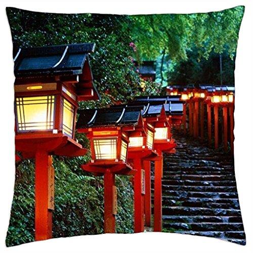 Farol carretera, Japón–Funda de almohada manta (18