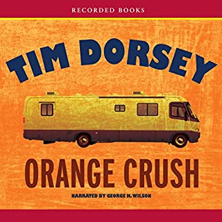 Orange Crush audiobook cover art