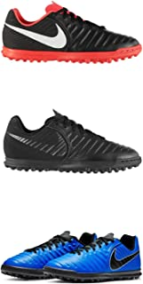 Official Brand Nike Tiempo Legend Club Astro Turf Football Trainers Juniors Soccer Shoes
