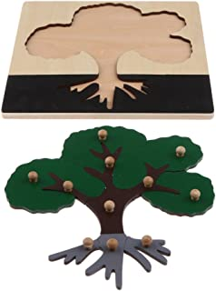esPuzzle Montessori Madera Amazon De Amazon OPXuwkZiT