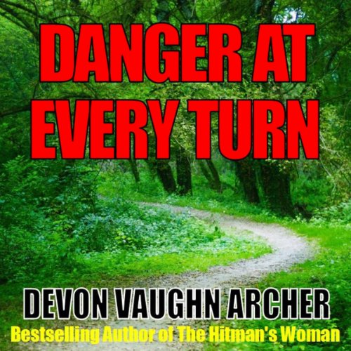 Danger at Every Turn audiobook cover art