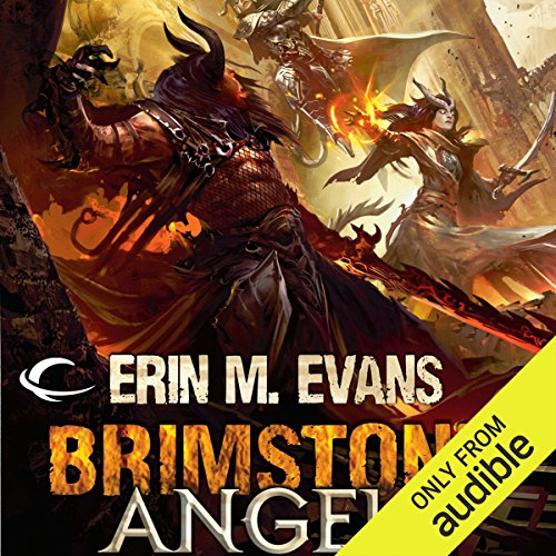 Brimstone Angels audiobook cover art