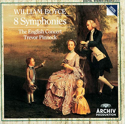 The English Concert, Trevor Pinnock & William Boyce