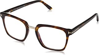 Eyeglasses Tom Ford FT 5523 -B 54 Red Havana/Clear Lens