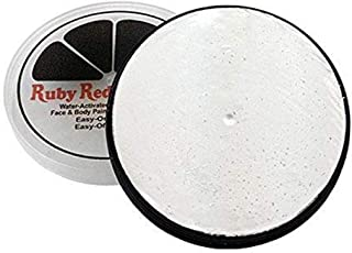 Ruby Red Paint Face Paint, 18 ML - Pearl White