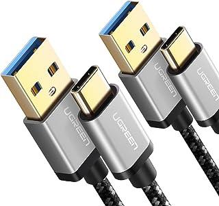 comprar comparacion UGREEN 2X Cable USB C, Cable USB Tipo C a USB A 3.0 Nylon Trenzado Carga Rápida para Dispositivos USB Type C Samsung S10 S...