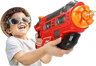 con Capacidad 2700ML Extra Grande Womdee S/úper Pistola de Agua para ni/ños 9-12 Metros Pistolas de Agua Potentes de Largo Alcance para Ni/ños y Adultos Parque Acu/ático Fiesta en la Playa Diversi/ón
