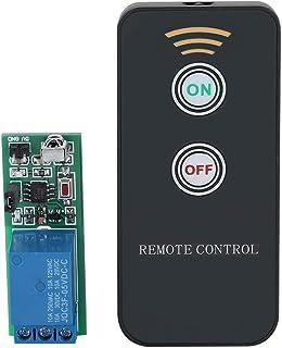 Placa relé de 1 canal 5 V para relé Raspberry Pi Arduino con mando a distancia de rayos infrarrojos inalámbricos