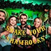 St Patricks Day Decorations - Shake Your Shamrocks Banner Gold Glitter,St Patricks Day Banner,St. Patrick's Day Shamrock Decorations,Irish Party Supplies #2