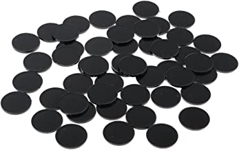 MagiDeal 50pcs Plastic Round Model Bases 22mm for Warhammer 40k Miniature RPG Wargame