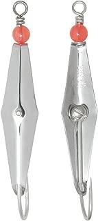 Clarkspoon 1RBMS 3/8-Ounce Original Fishing Spoon, 3-Inch Length, Chrome-Plated Finish