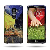 CoverON Hard Slim Design Case for LG G2 VS980 (Verizon Only) - with Cover Removal Pry Tool - Terrace Cafe
