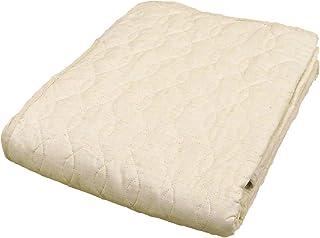 敷きパッド シングル 麻混 日本製 無添加 無着色 吸湿速乾性 天然繊維 綿 ガーゼ