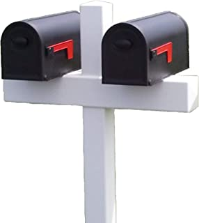 Handy Post Double 54-in x 31-in White Vinyl Mailbox Post Sleeve
