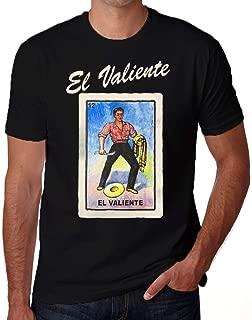 El Valiente Loteria Mexican Lottery Bingo Funny T Shirt