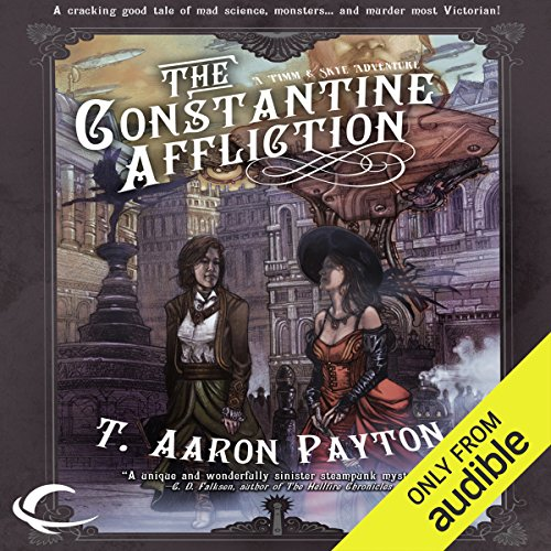 The Constantine Affliction audiobook cover art