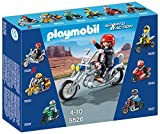Playmobil Coleccionables - Sports & Action Moto Chopper Muñecos y Figuras (Playmobil 5526)