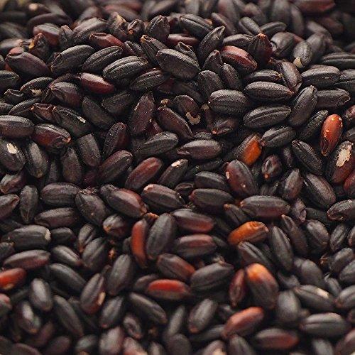 黒米 - 福岡県産 国産 古代米。活性酸素を消去 (1kg)