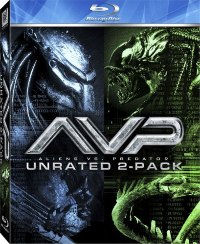 Alien Vs Predator 1 & 2 [USA] [Blu-ray]