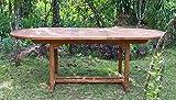 Tisch Capri 180 cm, Teakholz Gartentisch Garten Holz