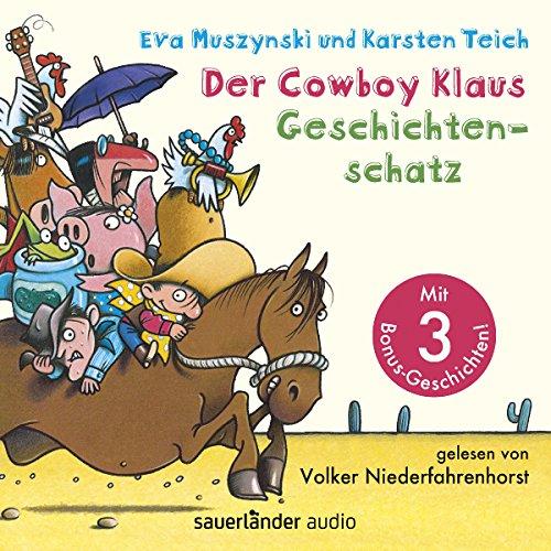 Couverture de Der Cowboy Klaus Geschichtenschatz