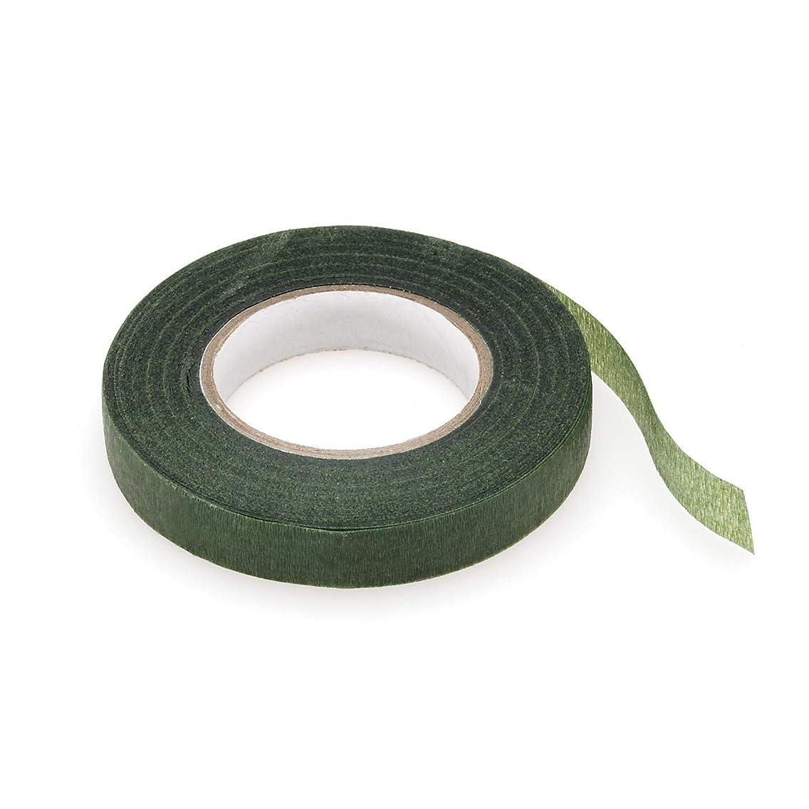 Bulk Buy: Darice DIY Crafts Floral Tape Green 1/2 inch x 30 yards (3-Pack) P35754-3
