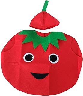 Tomato Unisex Children Costume 3-7y
